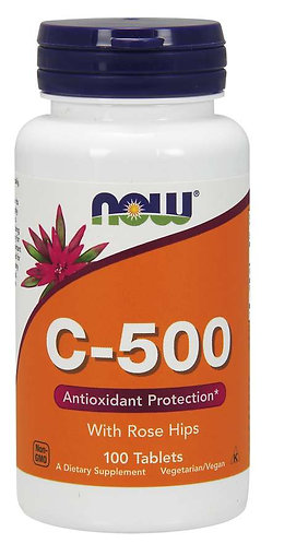 Vitamin C-500 Tablets, 100 ct