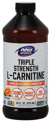 L-Carnitine, Triple Strength Liquid