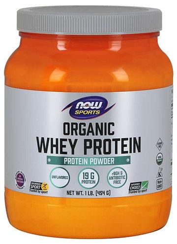 Whey Protein, Organic Unflavored Powder