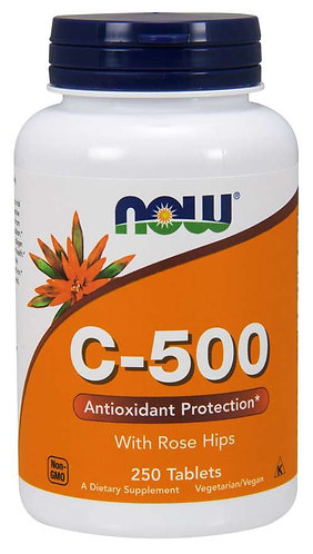 Vitamin C-500 Tablets, 250ct