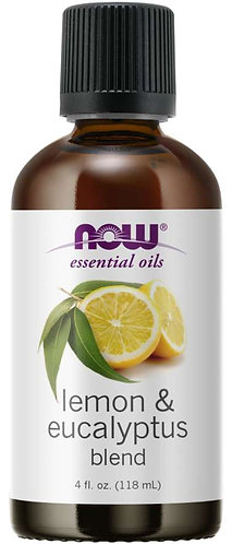 Lemon & Eucalyptus Oil Blend, 4 oz