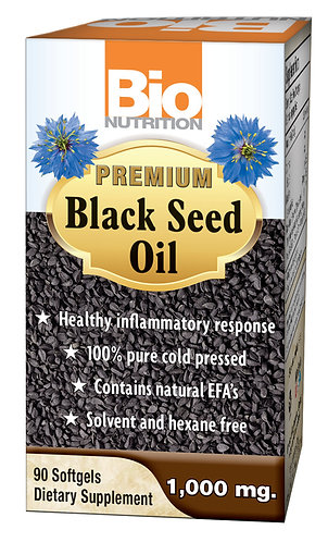 Bio Nutrition's Premium Black Seed Oil, 90 Softgels