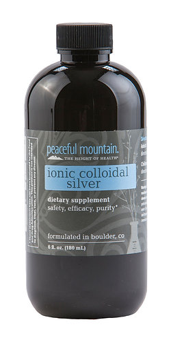 Ionic Colloidal Silver Dietary Supplement 6 oz.