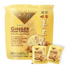 Prince of Peace Ginger Honey Crystals, 30 pack