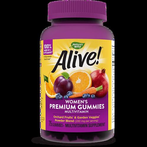 Alive!® Premium Women's Gummy Multivitamin