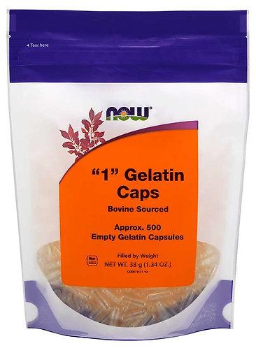 Empty Capsules, Gelatin, #1