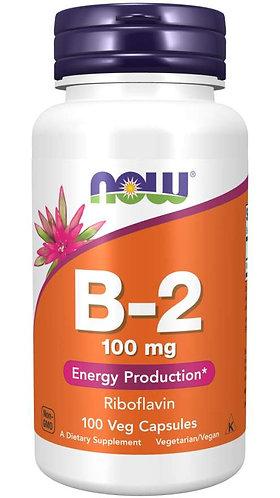 Vitamin B-2 100 mg Veg Capsules