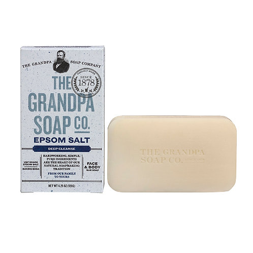 Grandpa's Soap Epsom Salt 4.25oz