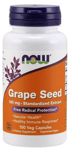 Grape Seed 100 mg Veg Capsules