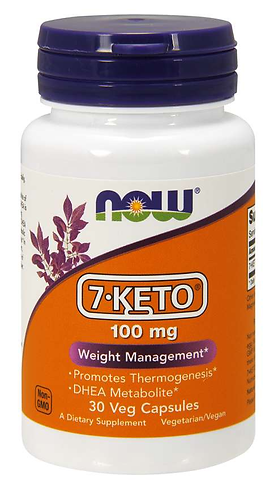 7-KETO® 100 mg Veg Capsules- 30 ct