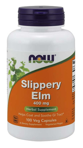 Slippery Elm 400 mg Veg Capsules