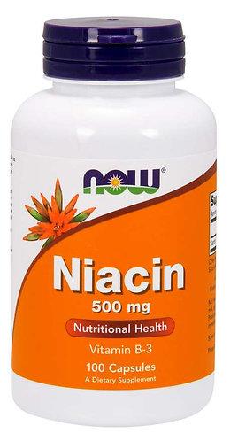 Niacin 500 mg Capsules