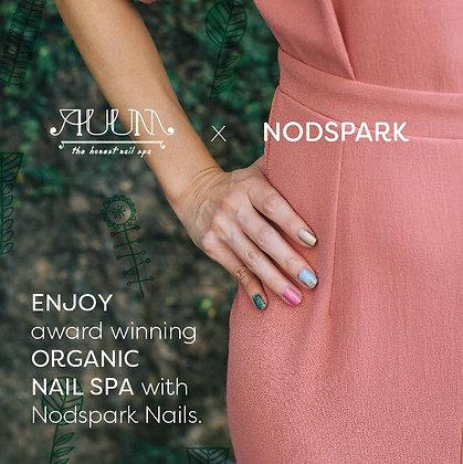 AUUM Signature Home Spa Manicure + One Nodspark