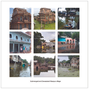 Submerged and Devastated Nisarpur Village