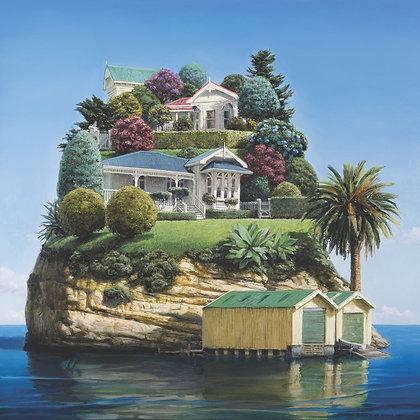 Waterfront Villas - Premium Print