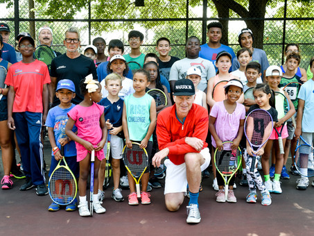 Local talent shines at Harlem tryouts hosted by Patrick & John McEnroe