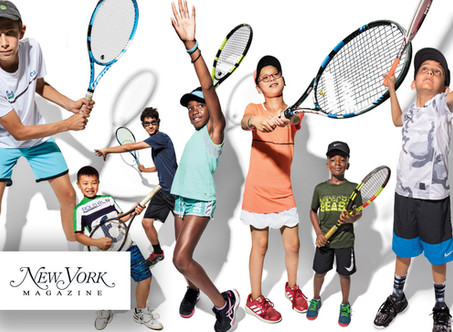 """Our """"Future Tennis Stars of New York"""" profiled by New York Magazine"""