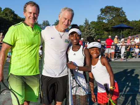 MEN'S JOURNAL: McENROE Is Breaking Racial, Economic, and Social Barriers to Success Through Tennis