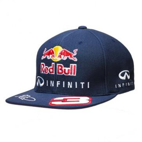 "Бейсболка ""Ricciardo. Flatcap"", Red Bull Racing"