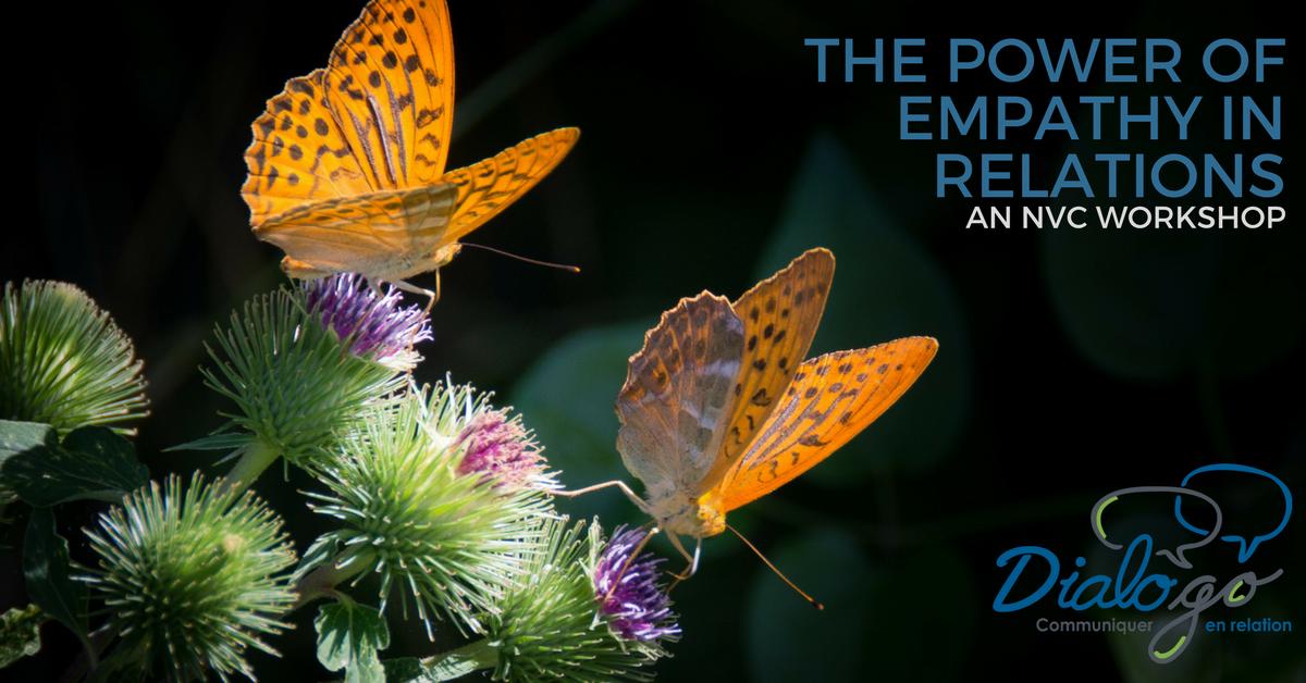 Power of empathy-relation-dialogo-nvc-compassionate communication