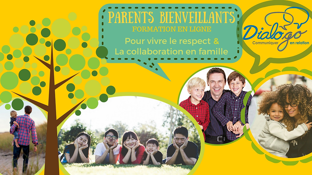 Formation communication bienveillante pour les parents