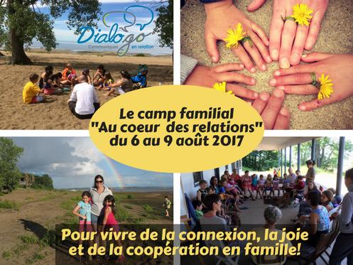 Le camp familial-Au coeur des relations-2017-Dialogo - Communiquer en relation-camp-famille-cnv-comm