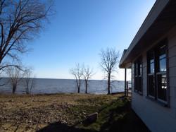 La vue sur le Lac St-Pierre