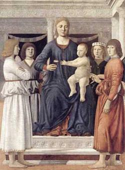 Piero, Madonna and Child