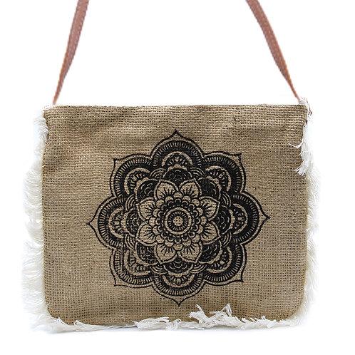 Fab Fringe Bag - Mandala Print