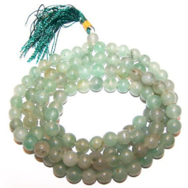 Mala Beads - 108 Green Aventurine