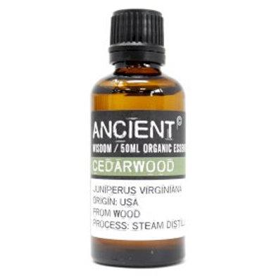 Cedarwood Organic Essential Oil 50ml