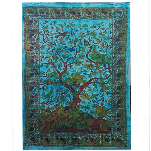 Cotton Wall Art -  Tree of Life - Classic