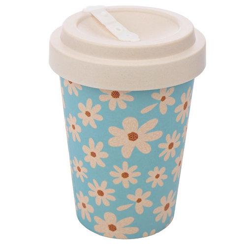 ECO Oopsie Daisy Reusable Screw Top Bamboo Composite Travel Mug