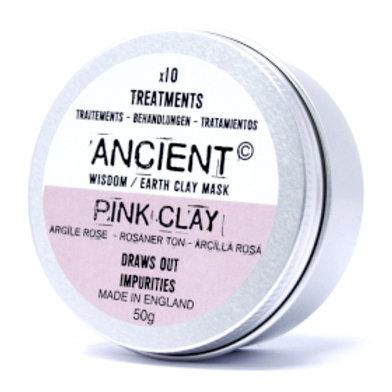Pink Face Mask 80g (Powder)