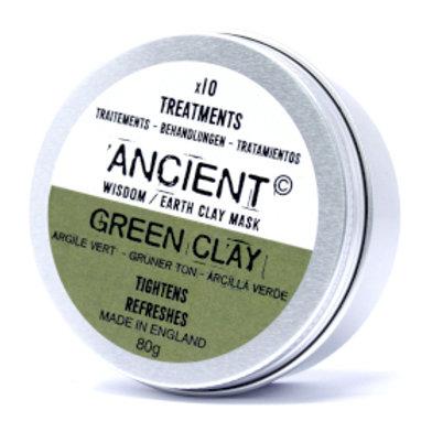 Green Clay Face Mask 80g (Powder)