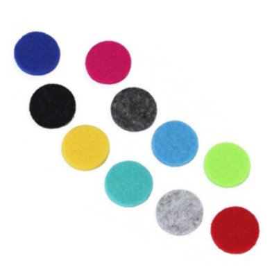 Aromatherapy Necklace Reusable Refill Pad - 30mm