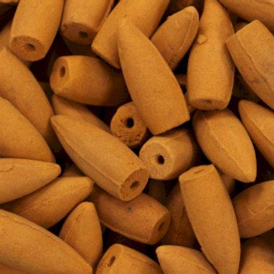 Back Flow Incense Cones - Amber