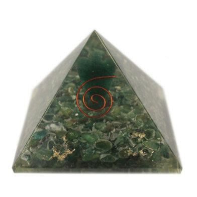Lrg Orgonite Pyramid - Angel