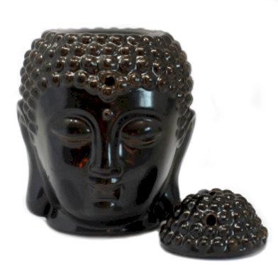 Buddha Oil Burner - Black
