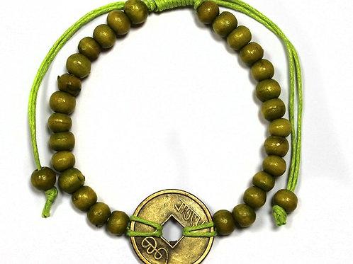 Good Luck Feng-Shui Bracelets - Lime Green