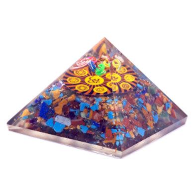 Orgonite Pyramid - Om Chakra