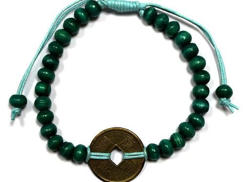 Good Luck Feng-Shui Bracelets - Green
