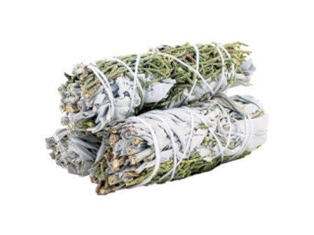 Smudge Stick - White Sage & Juniper 10cm