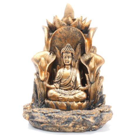 Backflow Incense Burner - Buddha