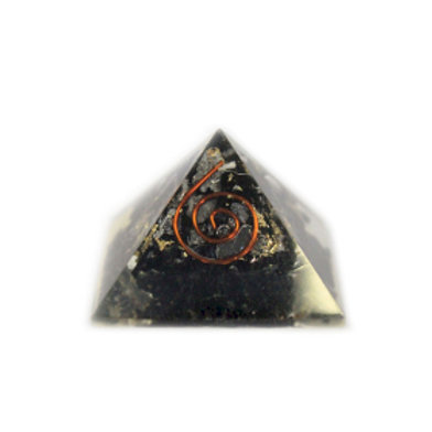 Orgonite Pyramid - Gemchips and Copper