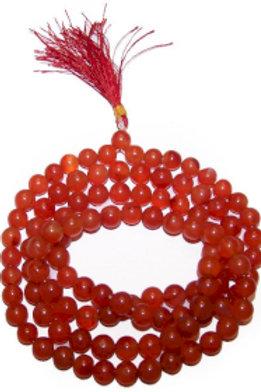 Mala Beads - 108 Carnelian