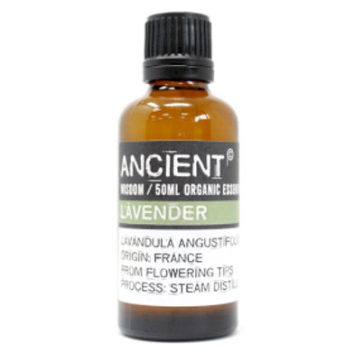 Lavender Organic Essential Oil 50ml