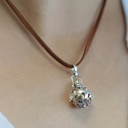 Silver Angel Bell - Protection - 16mm
