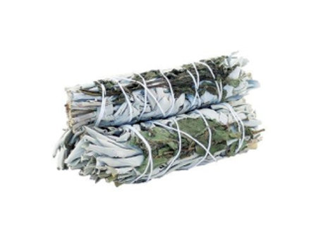 Smudge Stick - White Sage & Peppermint 10cm