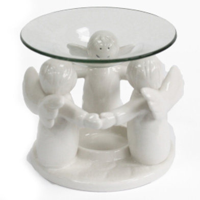 Angel Friends Oil Burner - White